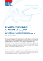 Democracy discource at arenas of election